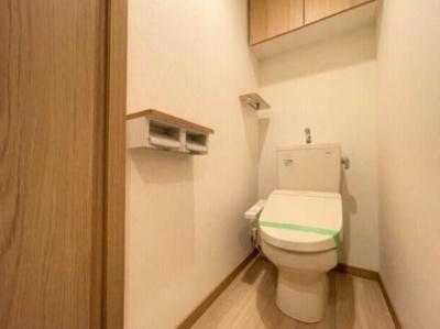 ルーブル阿佐ヶ谷北のトイレです。