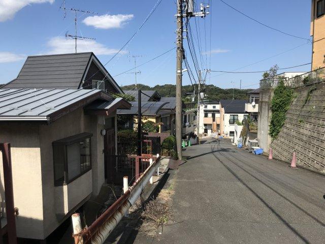 【周辺】西生田3丁目売地