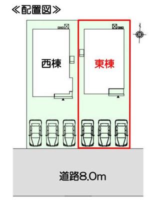 【区画図】焼津市石津 7期 新築一戸建て 東棟 FF