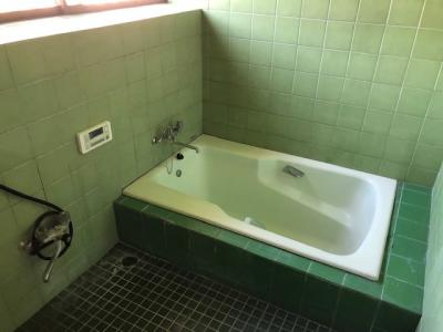【浴室】横須賀市長坂 賃貸戸建