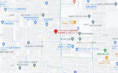 【地図】城南町貸家