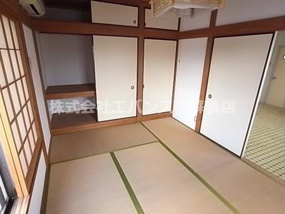 【寝室】コーポ上村