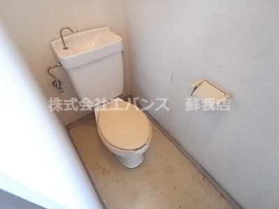 【トイレ】コーポ上村