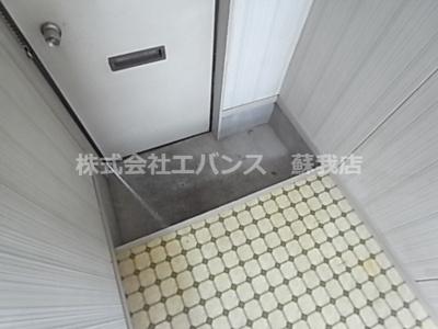【玄関】コーポ上村
