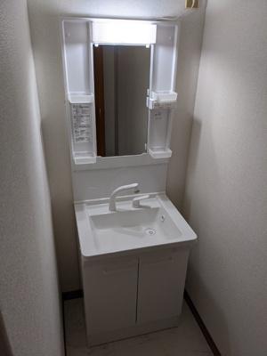 洗面台、独立してます♪