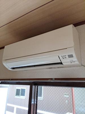 エアコン設備1基あります!