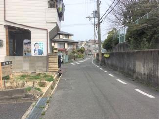 【前面道路含む現地写真】枚方市甲斐田町