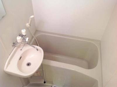 【浴室】レオパレスサンウッドⅢ