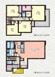 茅ヶ崎市今宿2期 新築戸建 全2棟1号棟の画像