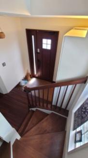 二階からの見下ろし