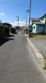 【前面道路含む現地写真】安曇川町青柳T邸