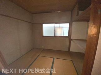 2階和室です♪お好きなリフォームを楽しんでみませんか?いつでもご覧いただけます!お気軽にネクストホープ不動産販売までお問い合わせを!!