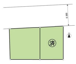 土地面積162.21平米、49坪以上のゆとりある敷地です
