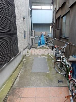 駐輪スペース☆
