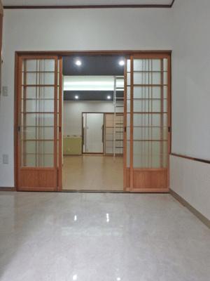 【居間・リビング】生野区中川西2丁目 貸家