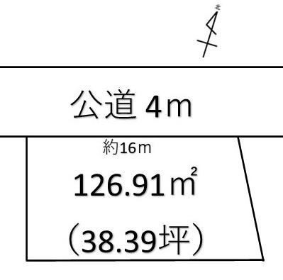 【土地図】深谷市上柴町東 800万 土地