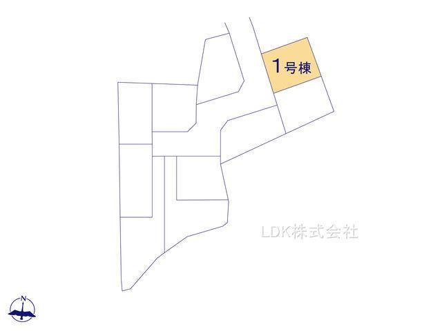 【区画図】新築戸建/富士見市大字水子(全10棟)