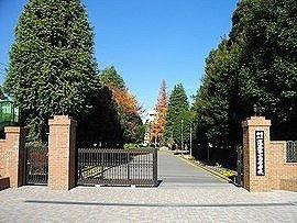 深谷第一高等学校まで1100m