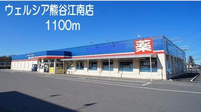 ウェルシア 熊谷江南店まで1100m
