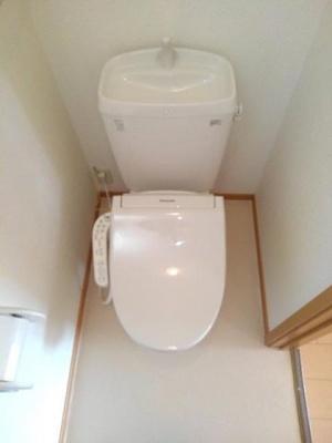 【トイレ】コモドアピターレⅡ