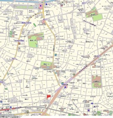 【地図】ナビ・新桜台