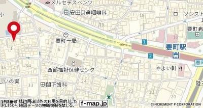 【地図】アイコート池袋