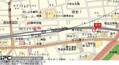 【地図】菱和パレス桜台