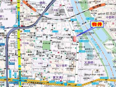 【地図】エスリード同心第3