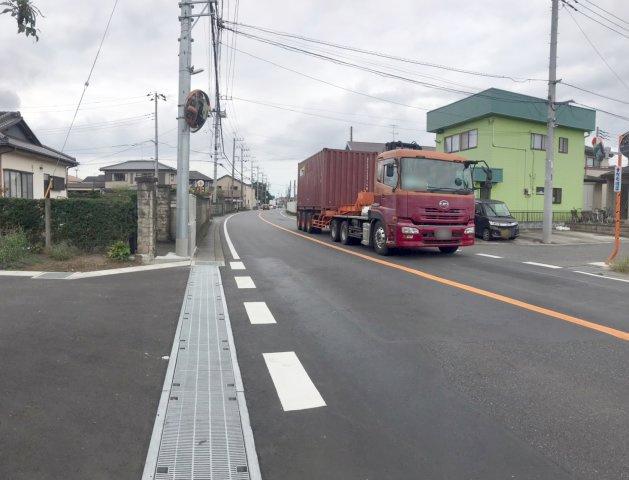 【前面道路含む現地写真】野田市谷津20-1期 全12棟