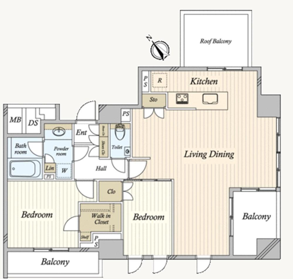 リビングに壁を増設してもう一部屋作れます!!