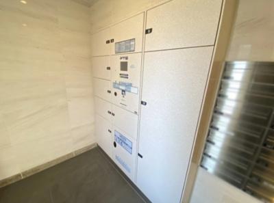 パレステージ青井ナチュラコートの宅配ボックスです。