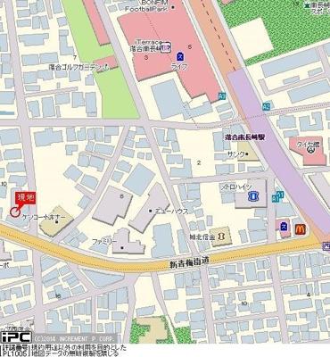 【地図】マイステージアムヒューゲル西落合