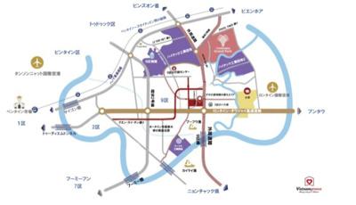 【地図】【海外不動産】グランドパーク (ベトナム・ホーチミン)