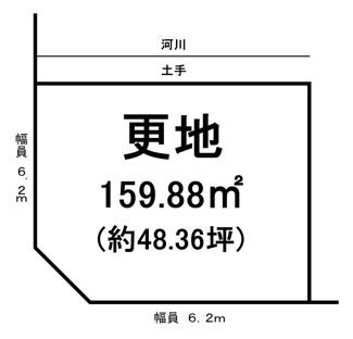 【土地図】野洲市冨波甲 売土地
