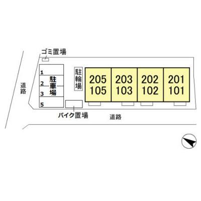 【区画図】ボヌール
