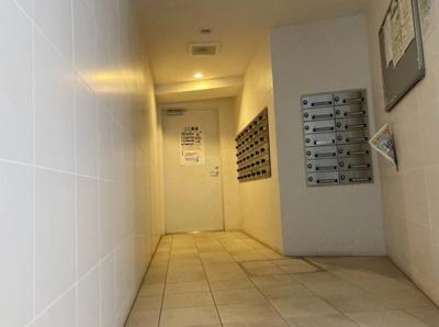 レジデンシャルステート北綾瀬パークビューのメールボックスです。