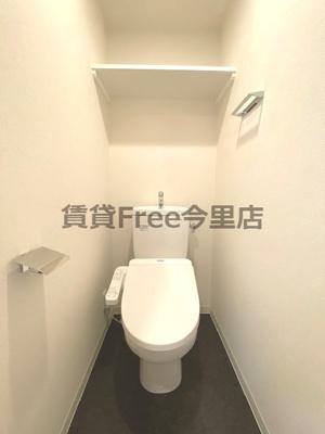 【トイレ】アドバンス大阪ブリアント 仲介手数料無料