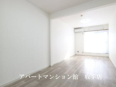 【居間・リビング】アパキャッスルA
