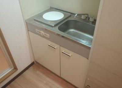 【キッチン】駅徒歩約1分!!学生マンションとしても需要の見込まれる物件!