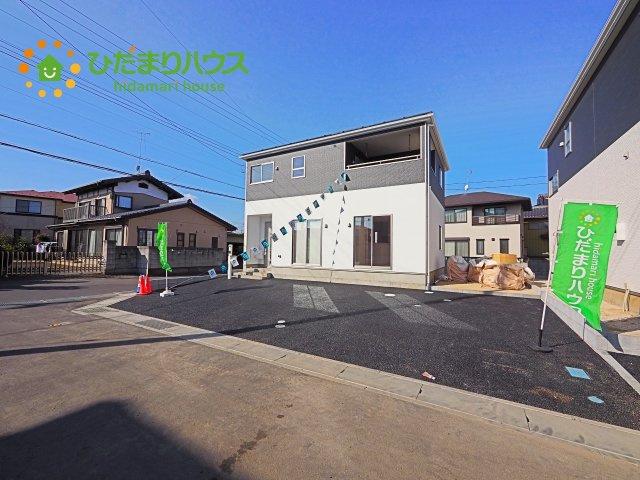 【前面道路含む現地写真】土浦市都和第2 新築戸建 1号棟