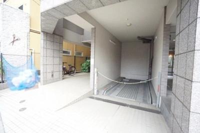 ルミエール千住の駐車場です。