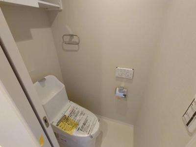 ルミエール千住のトイレです。