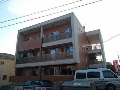 鉄骨建築のマンション