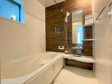 【浴室】豊島区目白4丁目 新築戸建 6480万円