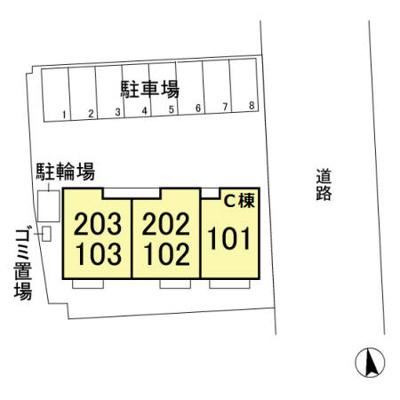 【地図】ゼピュロス学園の森D