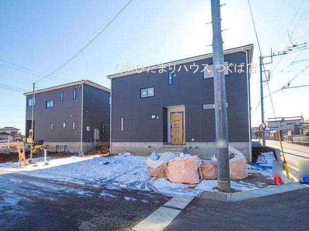 【前面道路含む現地写真】土浦市都和第2 新築戸建 7号棟