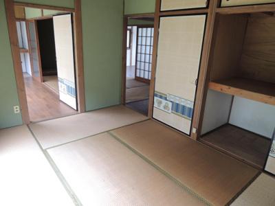 開放感のある和室