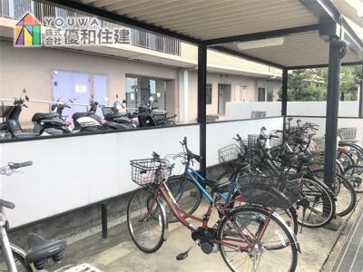 【駐輪場】朝日プラザウエストヒル神戸B棟