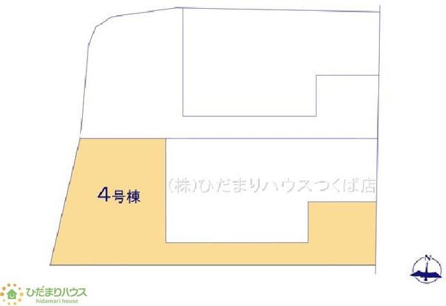 【完成予想図】取手市東21-1期 新築戸建 4号棟