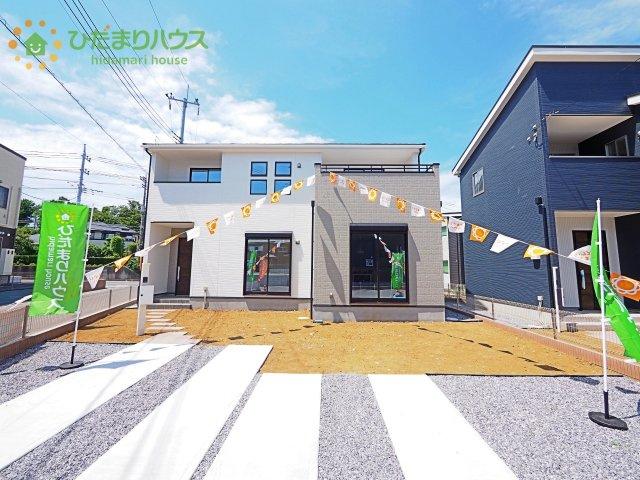 【外観】土浦市右籾10期 新築戸建  2号棟